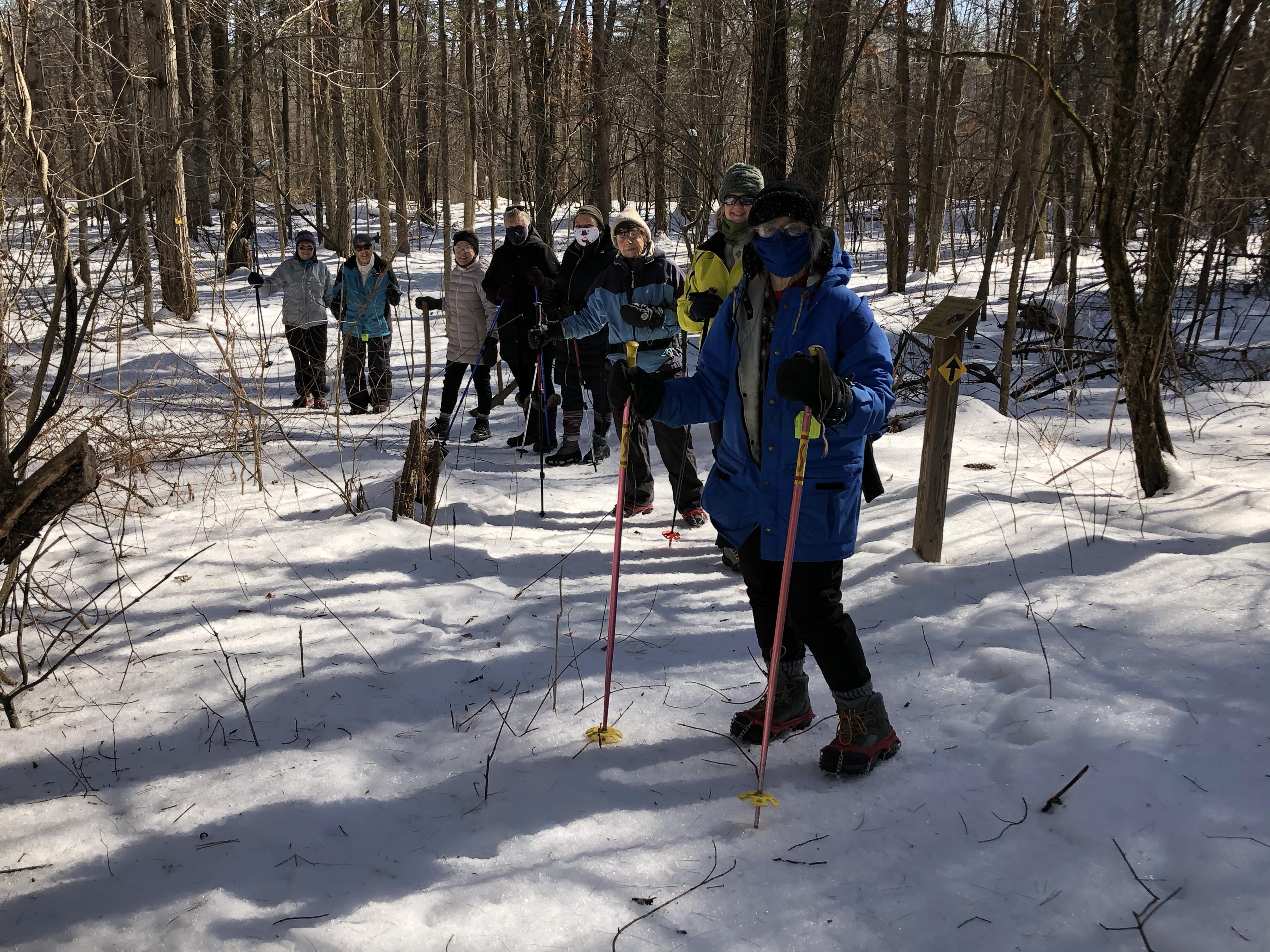 Garnsey-Nancys-Group-in-Woods