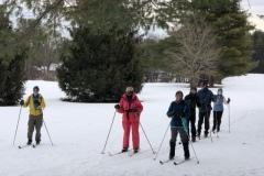 Brookhaven-Ski-group-on-trail