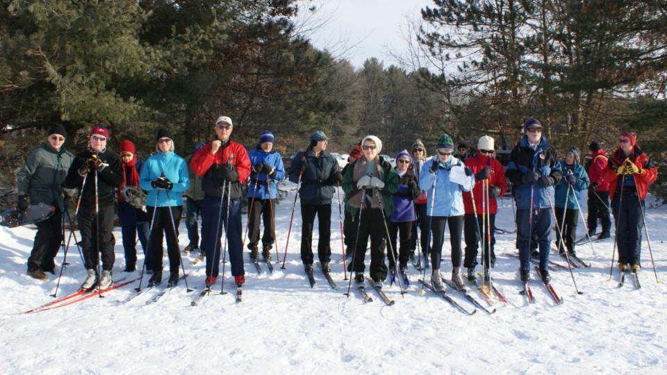ECOS snow skiing trip